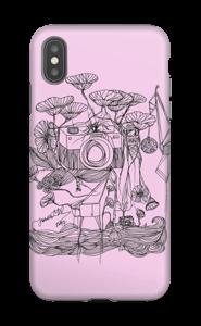 Kameraet og kranene rosa deksel IPhone XS Max tough
