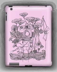 Kameraet og kranene rosa deksel IPad 4/3/2