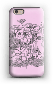 Kameraet og kranene rosa deksel IPhone 6s tough