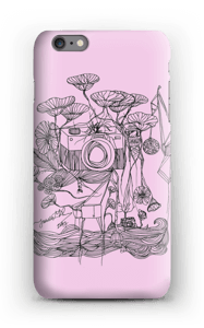 Vaaleanpunainen kamera kuoret IPhone 6s Plus