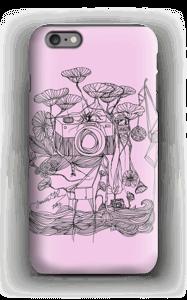Kameran och kranarna, rosa skal IPhone 6s Plus tough