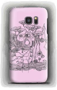 Kamera in Rosa Handyhülle Galaxy S7