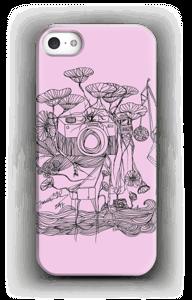 Kameraet og kranene rosa deksel IPhone SE