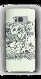 Vihreä kamera kuoret Galaxy S8