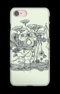 Kameraet og kranene deksel IPhone 8