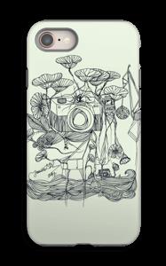 Kameraet og kranene deksel IPhone 8 tough