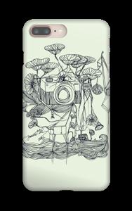Kameraet og kranene deksel IPhone 8 Plus
