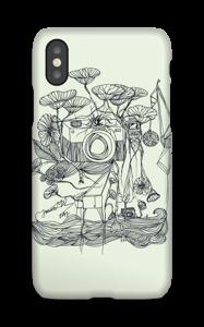 Kameran och kranarna skal IPhone X