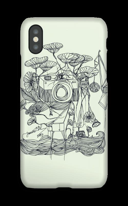 Kameraet og kranene deksel IPhone X