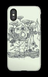 Vihreä kamera kuoret IPhone X tough