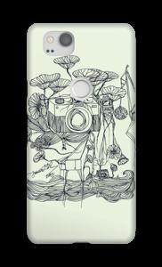Kameraet og kranene deksel Pixel 2
