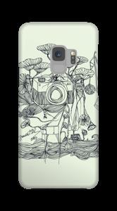 Kameraet og kranene deksel Galaxy S9