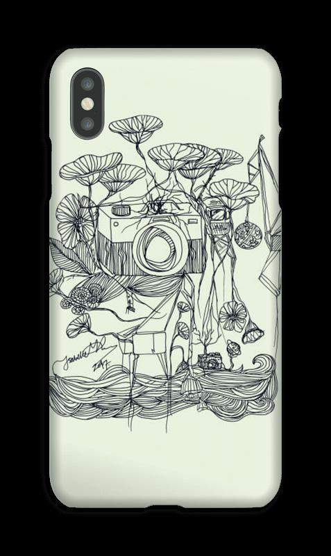 Kameraet og kranene deksel IPhone XS Max
