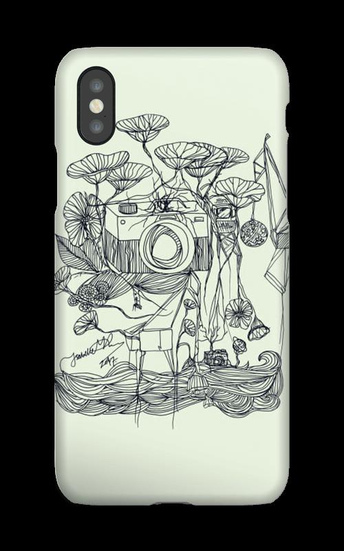Kameraet og kranene deksel IPhone XS