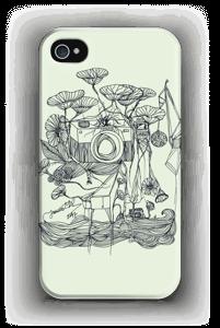 Kameraet og kranene deksel IPhone 4/4s