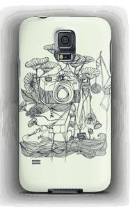 Kameraet og kranene deksel Galaxy S5