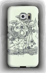Kameraet og kranene deksel Galaxy S6 Edge
