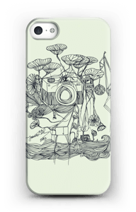 Kameraet og kranene deksel IPhone SE
