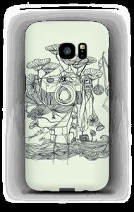 Kameraet og kranene deksel Galaxy S7 Edge