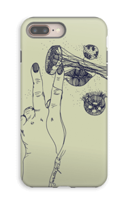 Vihreä maneetti kuoret IPhone 8 Plus tough
