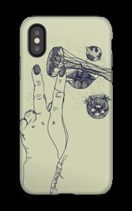 Maneten  deksel IPhone X tough