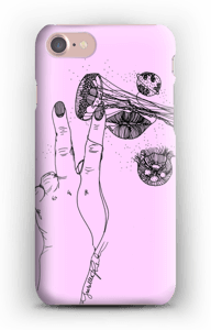 Rosa manet  deksel IPhone 7