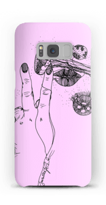 Rosa manet  deksel Galaxy S8