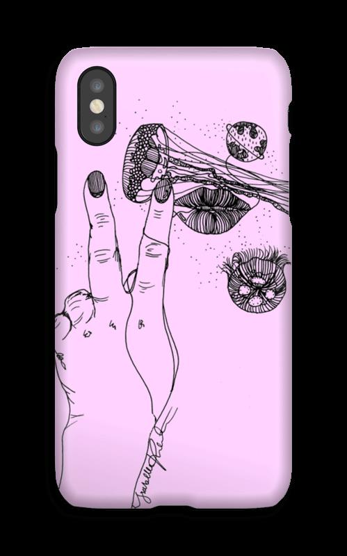 Rosa manet  deksel IPhone X