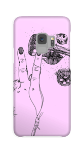 Medusa Rosa cover Galaxy S9