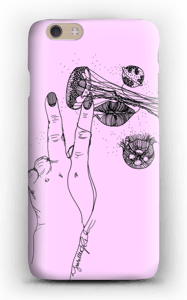 Vaaleanpunainen maneetti kuoret IPhone 6