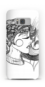 Doodle deksel Galaxy S8