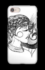 Doodle deksel IPhone 8