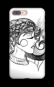 Doodle deksel IPhone 8 Plus