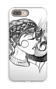 Doodle deksel IPhone 8 Plus tough