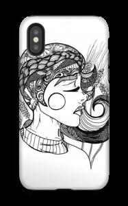 Doodle deksel IPhone X tough
