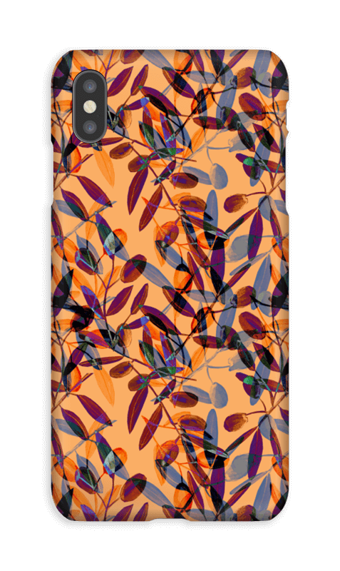 Olivenliv deksel IPhone XS Max