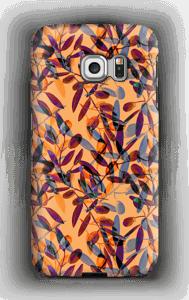 Oliivipuu kuoret Galaxy S6 Edge