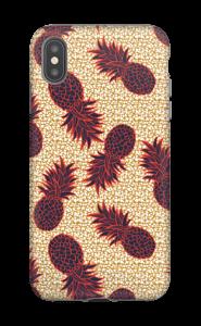Ananas i overflod deksel IPhone XS Max tough