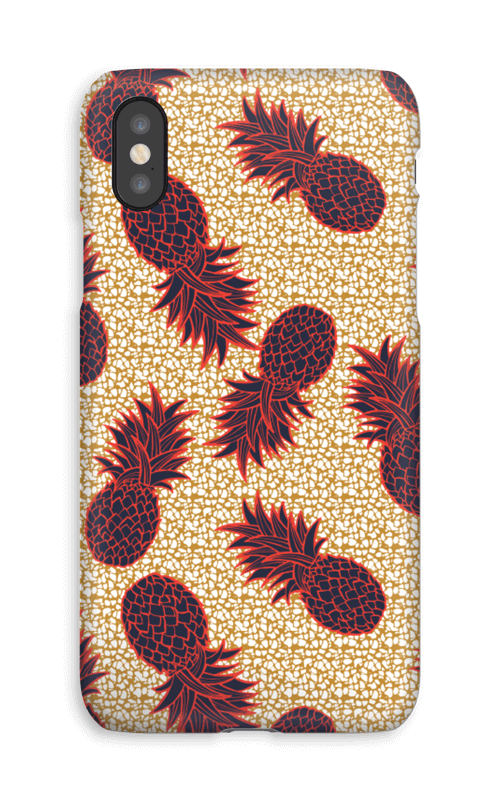 Ananas i overflod deksel IPhone XS