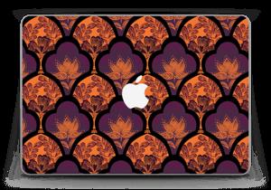 """Orange und Lila Skin MacBook Pro Retina 13"""" 2015"""