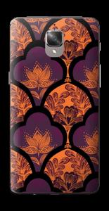 Orange und Lila Skin OnePlus 3