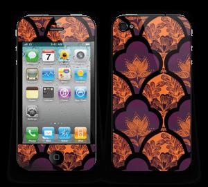 Orange und Lila Skin IPhone 4/4s