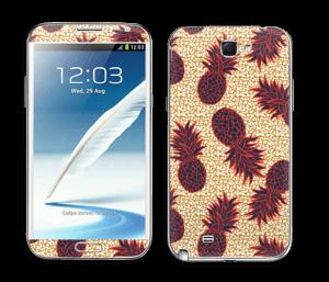 Ananastar Skin Galaxy Note 2