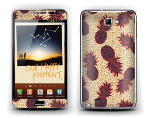 Pineapple Glow Skin Galaxy Note