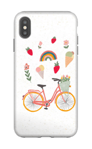 Summer Bike case IPhone XS Max tough