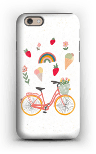 Summer Bike case IPhone 6s tough