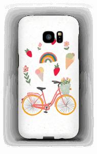 Summer Bike case Galaxy S7 Edge