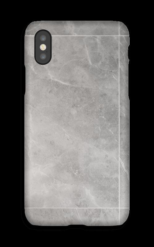 Grå marmordrøm deksel IPhone X