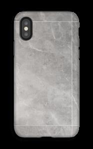 Marmordrømme i grå cover IPhone X tough