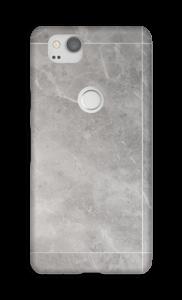 Grå marmordrøm deksel Pixel 2